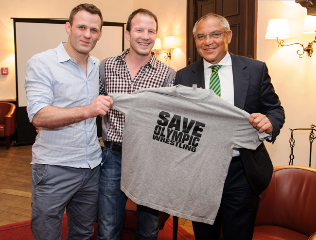 save olympic wrestling 2013